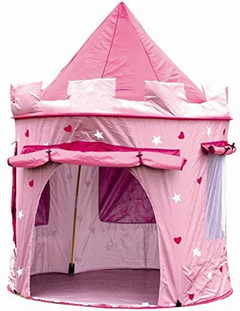 Cabane enfant maison pour fille | CHATEAU DE PRINCESSE | jardin ou intérieur | Tente de Jeu, jouet Pop Up, rose de la marque Cabane enfant TOP 6 image 0 produit