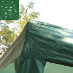 HG® 3x3m pavillon de bière pop imperméable en kiosque pliant vert jardin Tente Garden Party Pavillon Pavillon Tente coutures scellées PVC Faltpavillon de la mar TOP 7 image 2 produit