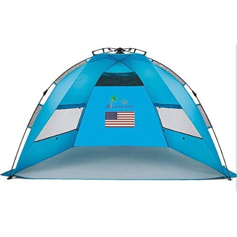 iHome&iLife Pop-up Tente Drôme Tente De Camping Trekking Tente Instantanée Tente Portable Pour Trek Cabane Extérieur Toit Anti UV Tente Automatique 2 Personnes TOP 1 image 0 produit