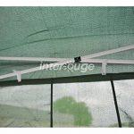 INTEROUGE Bâches latérales 4 côtés pour tente tonnelle pliante ECON; toile en polyester 180g/m²; 3 x 3 m; Blanc de la marque Interouge TOP 2 image 3 produit