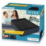 Intex 64124 Matelas Gonflable Mixte Adulte, Noir/Bleu, 152 cm x 203 cm x 42 cm de la marque Intex TOP 3 image 2 produit