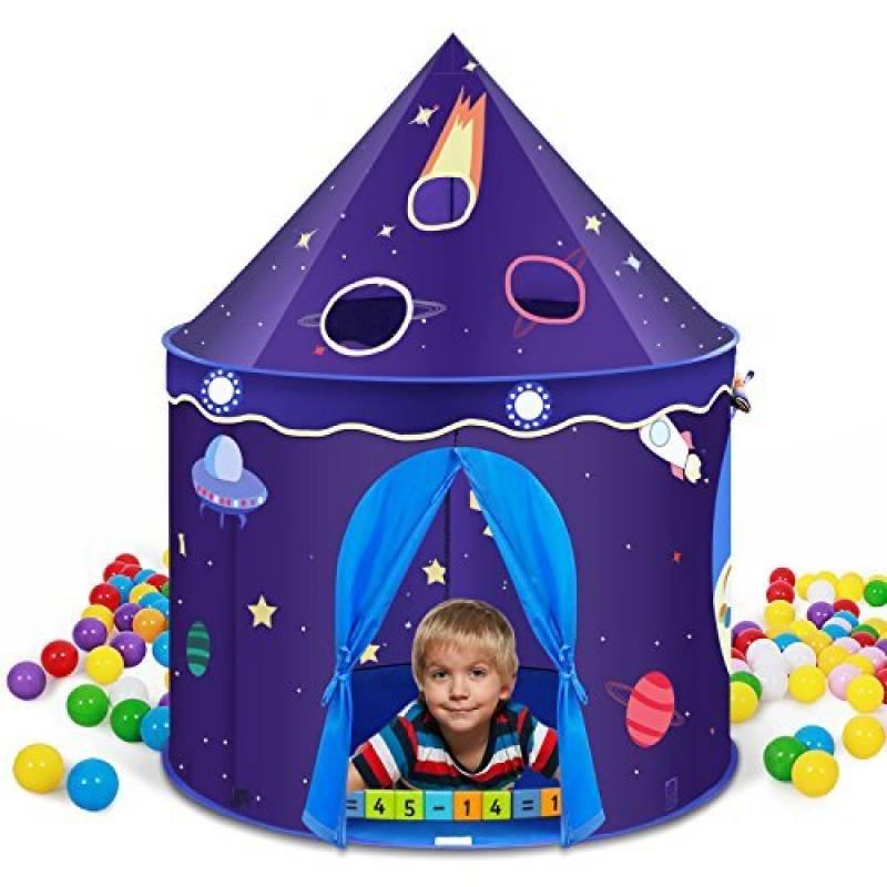 INTEY Tente Portable Château de Prince ou Princesse Pliable Tente de Jeu Pop Up Jardin Plage pour enfant(VIOLET) de la marque INTEY TOP 5 image 0 produit