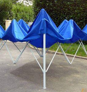 Investir dans une tente pliante pour économiser de la place principale