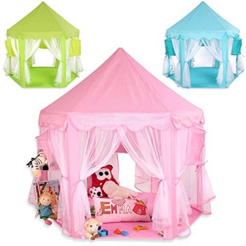 KIDUKU® Tente de jeu pour enfants Château de Princesse Tente de jeu Maison de Jouet Château de Princesse de fées, 3 couleurs au choix de la marque KIDUKU TOP 12 image 0 produit