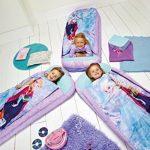 La Reine des Neiges - Lit junior ReadyBed - lit d'appoint pour enfants avec couette intégrée de la marque Worlds Apart TOP 10 image 0 produit
