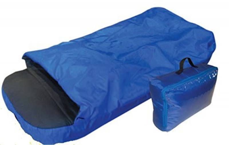 O'Camp Matelas gonflable avec duvet intégré Enfant Bleu de la marque O'Camp TOP 2 image 0 produit