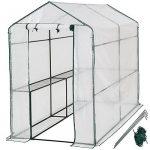 TecTake Serre de jardin PE plastique tente abri - diverses modèles - (186x120x190cm | No. 401861) de la marque TecTake TOP 3 image 0 produit
