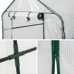 TecTake Serre de jardin PE plastique tente abri - diverses modèles - (186x120x190cm | No. 401861) de la marque TecTake TOP 3 image 1 produit
