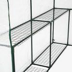 TecTake Serre de jardin PE plastique tente abri - diverses modèles - (186x120x190cm | No. 401861) de la marque TecTake TOP 3 image 2 produit