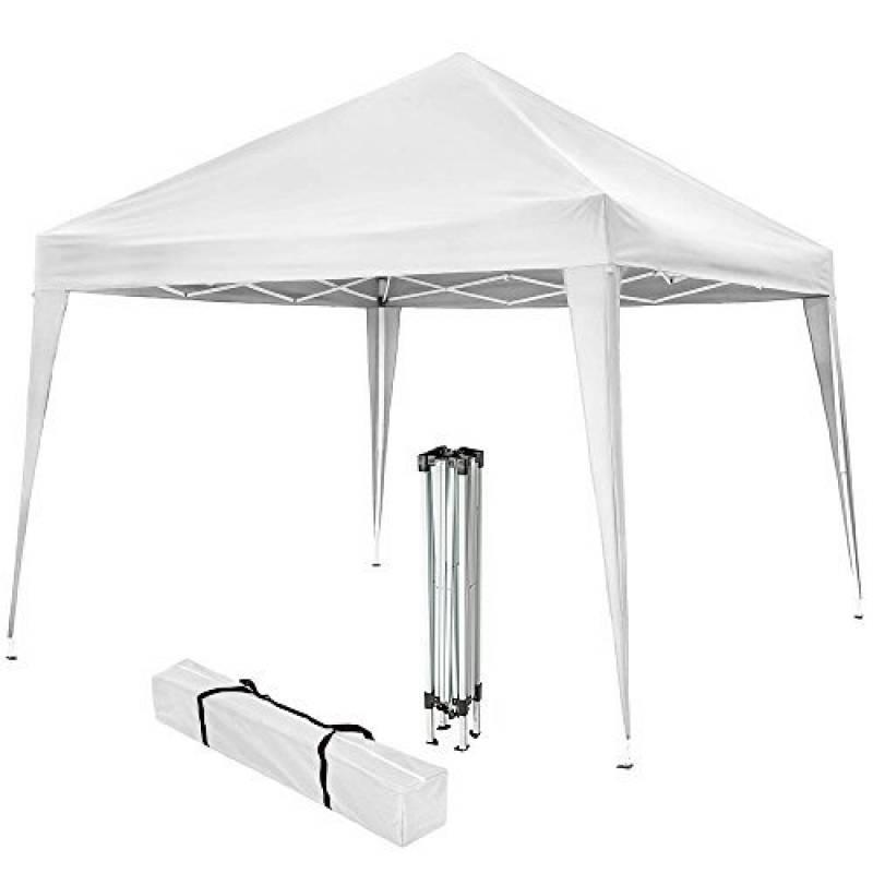 TecTake Tonnelle de jardin tente réception pavillon barnum chapiteau 3x3m pliante pliable blanc de la marque TecTake TOP 8 image 0 produit