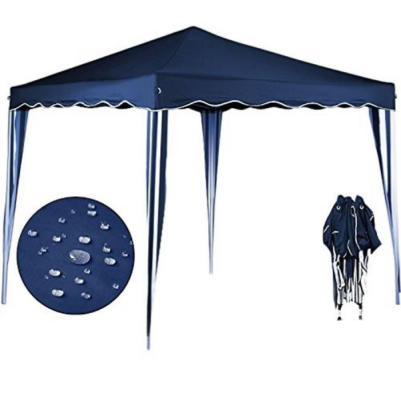 Tente pliante 3x3 m Tonnelle pavillon jardin pliable bleu + Sac de transport de la marque Deuba TOP 12 image 0 produit