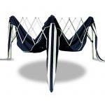 Tente pliante 3x3 m Tonnelle pavillon jardin pliable bleu + Sac de transport de la marque Deuba TOP 12 image 3 produit