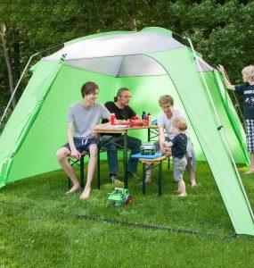 A quoi sert la tente de jardin ? principale