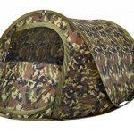 Blitz 2 Tactix Camouflage Tente Legere et compacte Tissu durable UVTex Tough avec traitement hydrofuge 125 x 210 x 90 cm 1.8kg Accueille 2 adultes confortableme TOP 1 image 0 produit