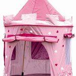 Cabane enfant maison pour fille | CHATEAU DE PRINCESSE | jardin ou intérieur | Tente de Jeu, jouet Pop Up, rose de la marque Cabane enfant TOP 12 image 0 produit