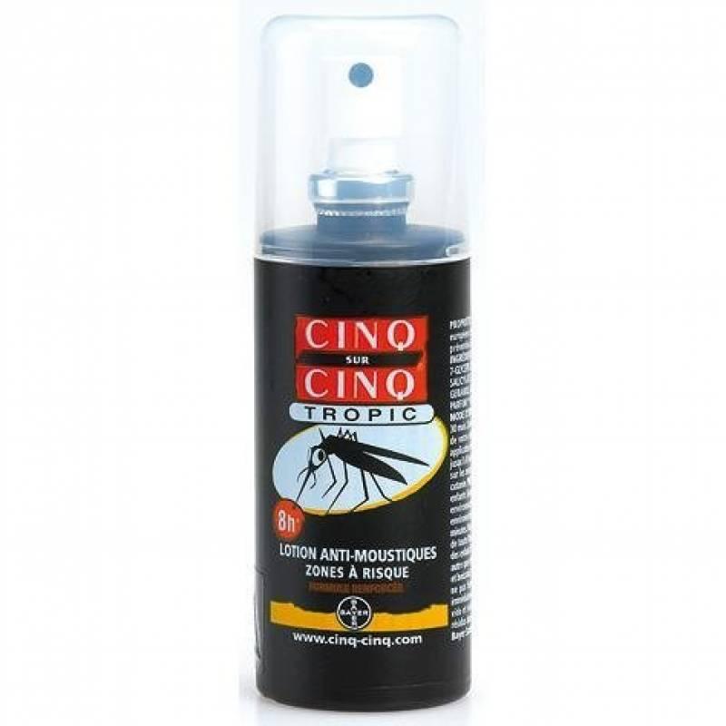 Cinq sur Cinq Tropic Lotion Anti-moustiques 100 ml de la marque Cinq sur Cinq TOP 5 image 0 produit