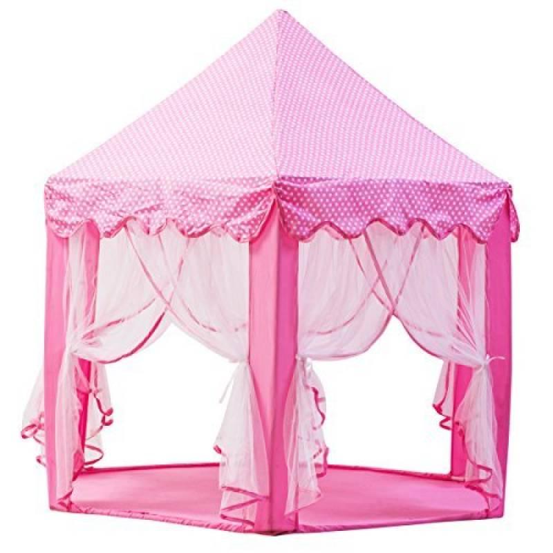 DeceStar Mignon Princesse Rose Castle Enfants Playhouse Indoor, Vient avec la lumière de la marque DeceStar TOP 8 image 0 produit