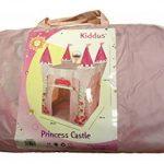 Enfants Princesse tente de Jeux Chateau - Maison tipi cabane utilisable à l'intérieur ou à l'extèrieur grâce à sa protection anti-UV, Pour Fille - Kiddu TOP 10 image 1 produit