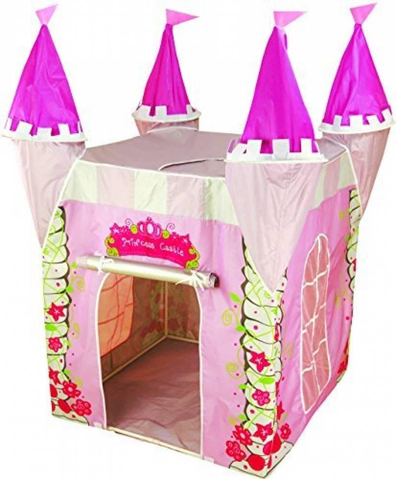 Enfants Princesse tente de Jeux Chateau - Maison tipi cabane utilisable à l'intérieur ou à l'extèrieur grâce à sa protection anti-UV, Pour Fille - Kiddu TOP 10 image 0 produit