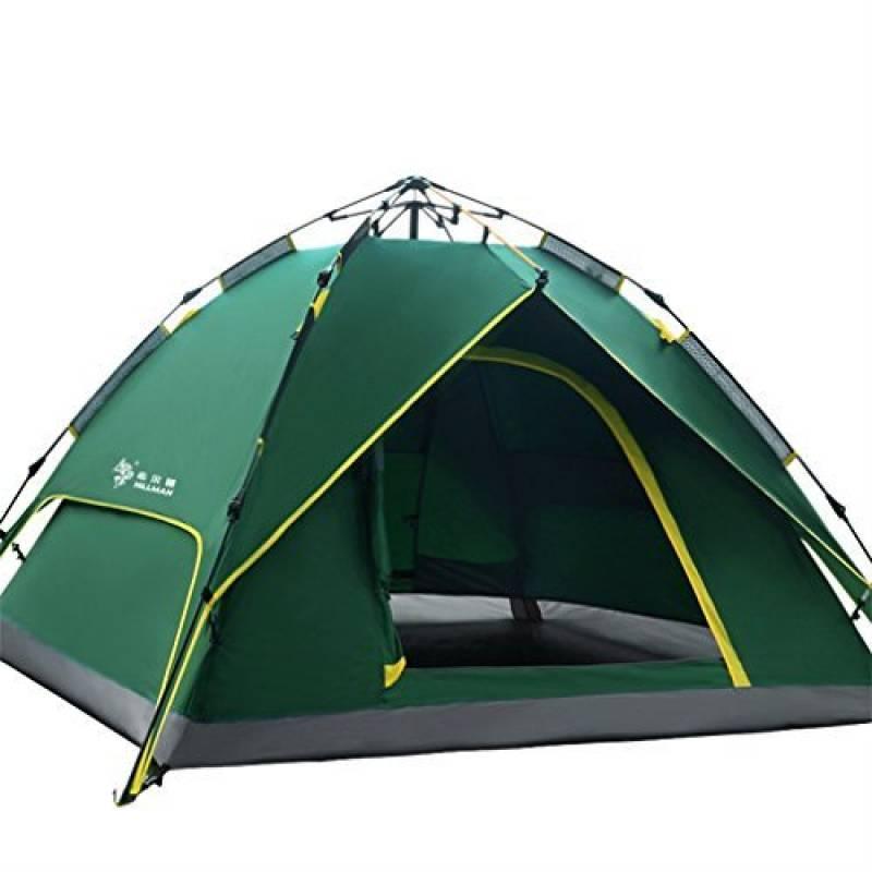 HILLMAN Tente de Camping Ouverture Automatique 3-4 Personnes Multifonction Pliante Etanche Sac de Transport de la marque HILLMAN TOP 3 image 0 produit