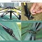 HILLMAN Tente de Camping Ouverture Automatique 3-4 Personnes Multifonction Pliante Etanche Sac de Transport de la marque HILLMAN TOP 3 image 1 produit