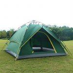 HILLMAN Tente de Camping Ouverture Automatique 3-4 Personnes Multifonction Pliante Etanche Sac de Transport de la marque HILLMAN TOP 3 image 2 produit