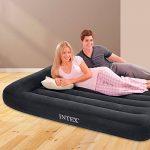Intex 12-66780 Matelas gonflable Pillow Rest Classic 230V avec pompe à air électrique intégrée 137 x 191 x 23cm de la marque Intex TOP 1 image 1 produit