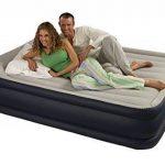 Intex - 67738 - Ameublement et Décoration - Lit Gonflable - 2 Places Larges - Rest Bed Gonfleur Intègre - 220 volts - 203 x 152 x 43 cm de la marque Intex TOP 7 image 2 produit