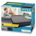 Intex Queen Deluxe Matelas Gonflable Mixte Adulte, Gris/Bleu, 152 cm x 203 cm x 42 cm de la marque Intex TOP 8 image 2 produit
