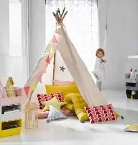 La tente indienne et ses particularités principale