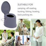 Magicpeony 5L léger et portable pour camping randonnée WC, compact, Solution de déchets pour une utilisation en intérieur et en extérieur Loo Camping Caravane p TOP 7 image 4 produit