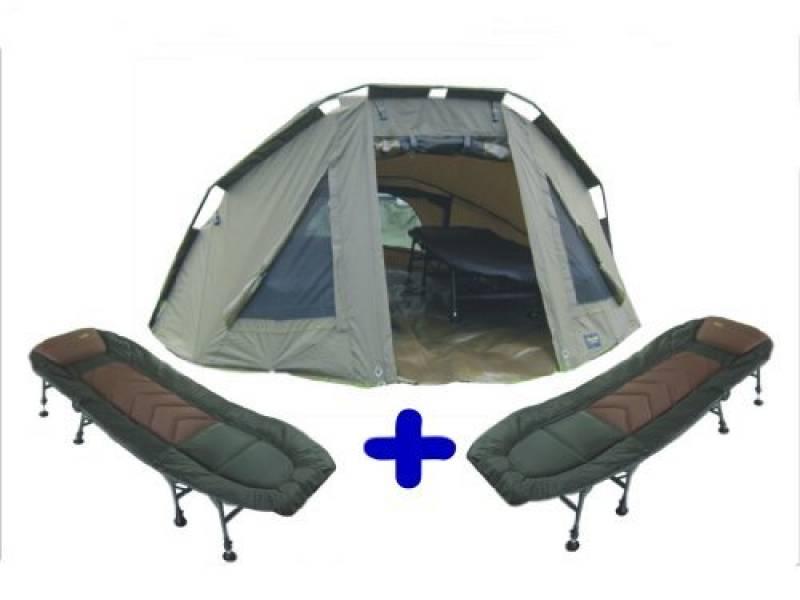 """MK-angelsport «5 dome tente pour 2 personnes """"tente de pêche individuelle 2 x 8 existe poches de la marque MK-Angelsport TOP 8 image 0 produit"""