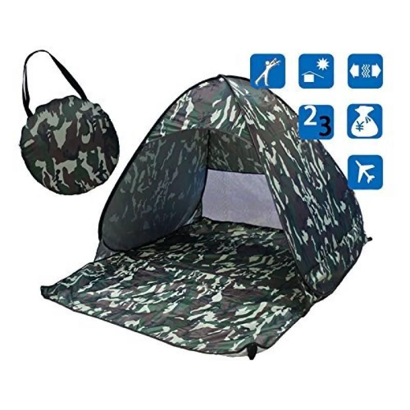 olayer olayer teintes soleil pour 2–3personnes Tente de pêche extérieur camping randonnée Tente de plage d'été Protection UV rapide ouverture automatique d TOP 10 image 0 produit