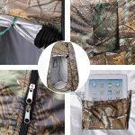 OUTAD Tente de Douche / Cabine de Changement / Toilette Instantanée Pliable et Amovible pour Utilisation Extérieure (3 couleurs a choisir) de la marque OUTAD TOP 6 image 5 produit