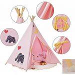 Pericross-Teepee Tente Indienne de Jouet Maison de Jouet pour Enfants de la marque Pericross TOP 3 image 1 produit