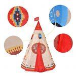 Pericross-Teepee Tente Indienne de Jouet pour Enfant intérieur ou extérieur de la marque Pericross TOP 9 image 1 produit