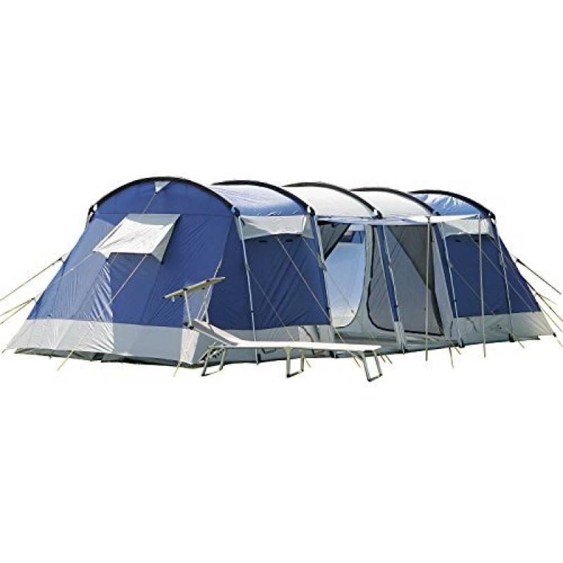Skandika Montana 8 - Tente de Camping Familiale Tunnel - 700 x 280 cm - 8 Personnes de la marque SKANDIKA TOP 3 image 0 produit