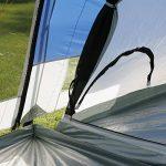 Skandika Montana 8 - Tente de Camping Familiale Tunnel - 700 x 280 cm - 8 Personnes de la marque SKANDIKA TOP 3 image 4 produit