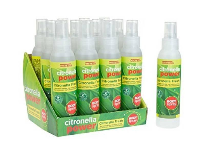 Spray anti moustique à la citronelle pour le corps, produit naturel, fabriqué en Espagne, bouteille spray 125 ml, Lot de 12 unités de la marque Casadelasaromas TOP 4 image 0 produit
