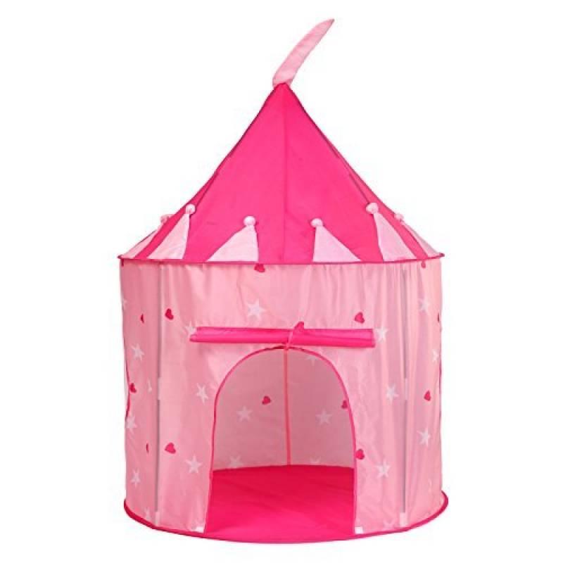 Truedays Tente de Jeu pour Enfants Princesse Pop Up Chateau Filles Rose Jouet Tente - avec Housse de Rangement de la marque Truedays TOP 14 image 0 produit