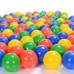 100 Pièces balles colorées plastique de piscine pour enfants et bébé de 1 mois d'âge (selon TÜV Rheinland Test Report novembre 2016) de la marque LCP Kids® TOP 4 image 2 produit