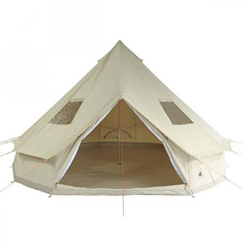 10T Desert 8 - Tente pyramide en coton 8 places, sol cousu de la marque 10T TOP 8 image 0 produit