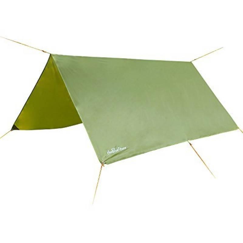 3m x 3m étanche, bâche, toile de tente, bâche anti-pluie, bâche imperméable, abri de randonnée, vert olive de la marque EARLYBIRD SAVINGS TOP 3 image 0 produit