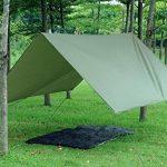 3m x 3m étanche, bâche, toile de tente, bâche anti-pluie, bâche imperméable, abri de randonnée, vert olive de la marque EARLYBIRD SAVINGS TOP 3 image 1 produit