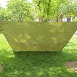 3m x 3m étanche, bâche, toile de tente, bâche anti-pluie, bâche imperméable, abri de randonnée, vert olive de la marque EARLYBIRD SAVINGS TOP 3 image 2 produit