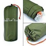 3m x 3m étanche, bâche, toile de tente, bâche anti-pluie, bâche imperméable, abri de randonnée, vert olive de la marque EARLYBIRD SAVINGS TOP 3 image 4 produit