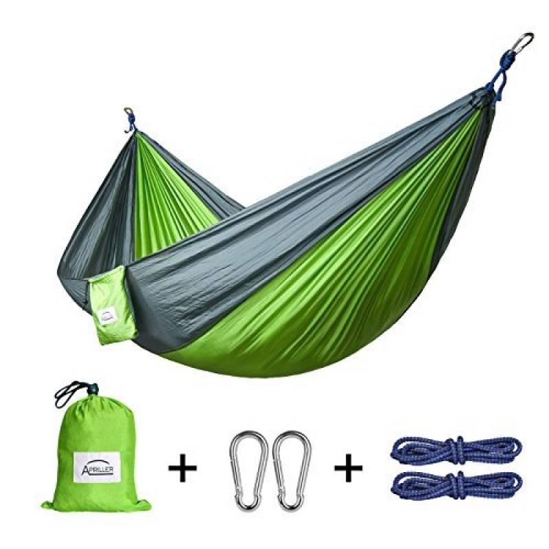 Apriller Hamac ultra léger en nylon multifonctionnel 1 ou 2 personne 300kg max (270X140cm) pour voyager , Camping, randonnée. de la marque Apriller TOP 1 image 0 produit
