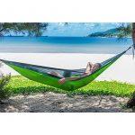 Apriller Hamac ultra léger en nylon multifonctionnel 1 ou 2 personne 300kg max (270X140cm) pour voyager , Camping, randonnée. de la marque Apriller TOP 1 image 3 produit