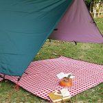 Bache Camping,Bache Impermeable,Hamac Tente, Pare-soleil et survie Bracelet en acier inoxydable avec Adjust Bow Shackle de la marque TEPSMIGO TOP 10 image 1 produit