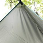 Bache Camping,Bache Impermeable,Hamac Tente, Pare-soleil et survie Bracelet en acier inoxydable avec Adjust Bow Shackle de la marque TEPSMIGO TOP 10 image 3 produit